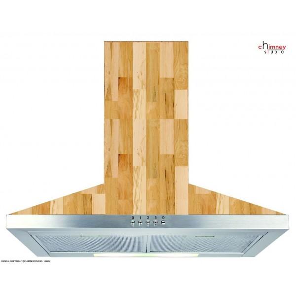 Handmade SS-Castle-Wood Kitchen Chimney-Hood